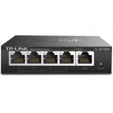 TP-LINK TL-SF1005P 5口百兆POE供电交换机5口标准POE
