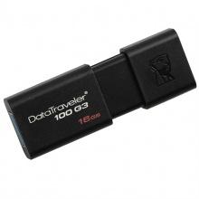 金士顿U盘(Kingston)DT100G3 16GB USB3.0 U盘 高速车载U盘