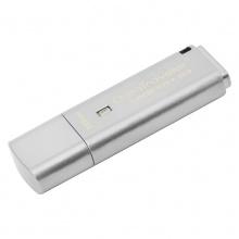 金士顿U盘(Kingston)DTLPG3 16G U盘 USB3.0 256位AES硬件金属加密U盘