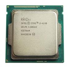 英特尔CPU Intel 酷睿i3 CPU处理器 台式机 1150针 i3 4160 3.6G 散片一年