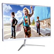 瀚美奇显示器  G3 21.5寸 IPS  全金属超窄边超薄7mm白色
