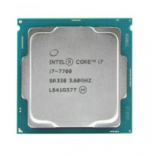 英特尔CPU 睿翼I7-7700 3.6G 1151 散片 质保一年