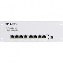 TP-LINK TL-R488GPM-AC PoE·AC一体化千兆8口路由器模块APP管理双WAN 标准POE供电4口有线路由器