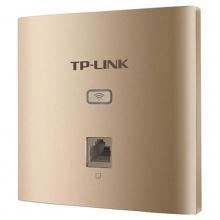 TP-LINK TL-AP450I-PoE 450M无线面板式AP WIFI接入器 薄款香槟金