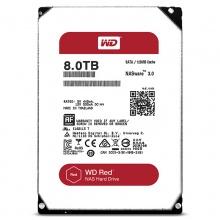 西部数据(WD)红盘8T 机械硬盘 8TB NAS服务器磁盘阵列 WD80PUZX 质保三年