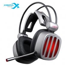 西伯利亚耳机 (XIBERIA)S21 游戏耳机头戴式 电脑耳机带麦 吃鸡耳机 电竞耳麦7.1声道