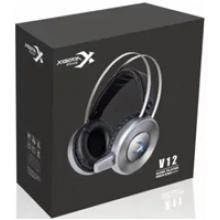 西伯利亚耳机 V12网吧电竞游戏耳机7.1声道吃鸡听声辨位头戴式电脑耳麦 盒包