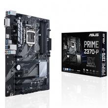 华硕主板 华硕 PRIME Z370-P 游戏主板 CPU支持8600K 8700K