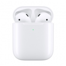 Apple AirPods 二代 配无线充电盒 苹果蓝牙耳机