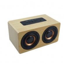 微森A300木质迷你USB2.0无线蓝牙小音箱便携小音响手机收款播报