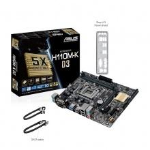 华硕主板 H110M-K D3版 LGA1151电脑主板 支持DDR3内存
