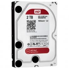 西部数据(WD)红盘 2TB SATA6Gb/s 64M 网络储存(NAS)硬盘(WD20EFRX) 质保三年