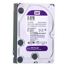 西部数据(WD)紫盘 2TB SATA6Gb/s 64M 监控硬盘 WD2000EARS 质保三年