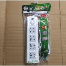 新子弹头004 插座/插线板/插排/排插/接线板/拖线板 全长1.8米