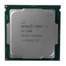英特尔CPU 睿翼I3-7100 3.9G 1151散片