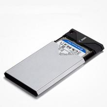 移动硬盘盒飚王(SSK) SHE-V315 USB3.0 串口 金属铁灰