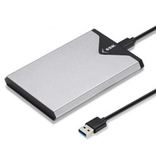 移动硬盘盒飚王(SSK) SHE-C310 TYPE-C 串口 金属铁灰