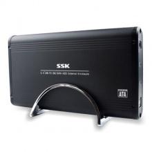 移动硬盘盒飚王(SSK) SH-E053 3.5寸 USB2.0 串口并口通用
