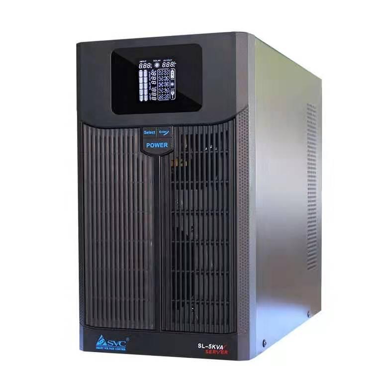 SVC 塔式UPS不间断电源SL-5KL 5KVA 3500W 外接48V电池组 电讯更优惠