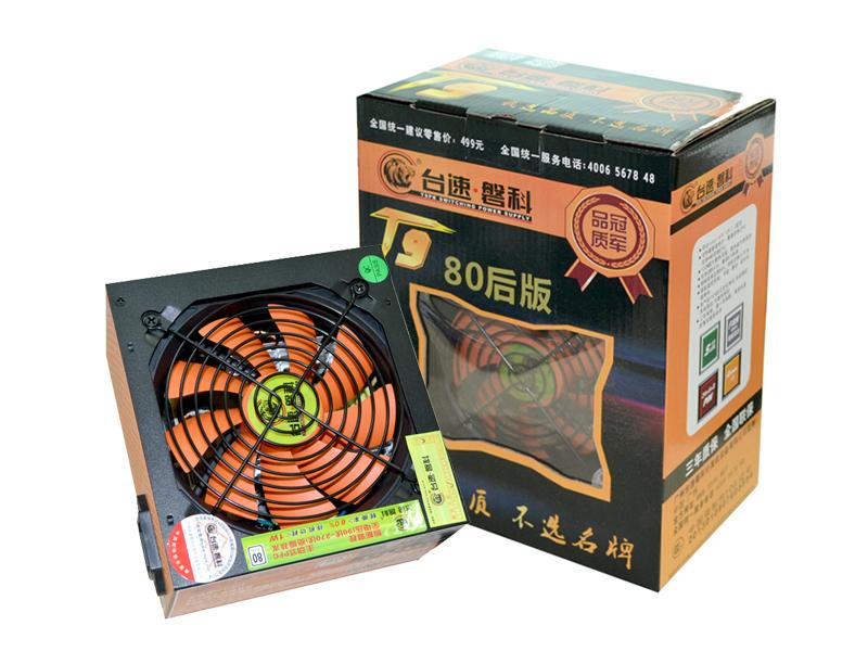 台速磐科T9-600P 低碳版 电源 额定功率:350w