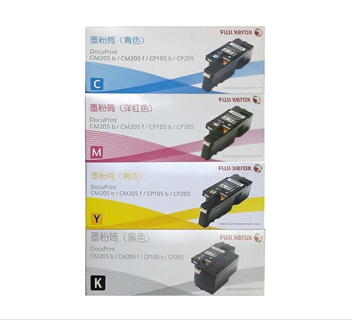 富士施乐CP105b/ 黑色墨粉筒经济