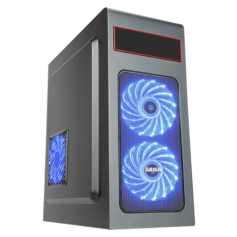 先马工匠1号 电脑机箱(金属面板/一体成型/全包式侧板/易拉式风扇安装)