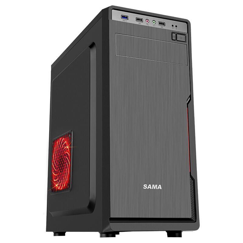 先马 星脉1商务机箱(U3、支持ATX主板长显卡高CPU散热)