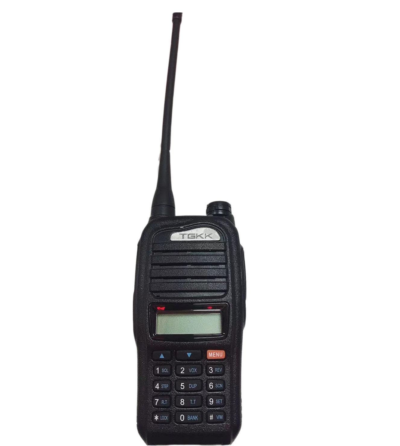 特锐特对讲机 TGKK-8A模拟对讲机3200毫安待机178个小时 距离5公里驴友专用