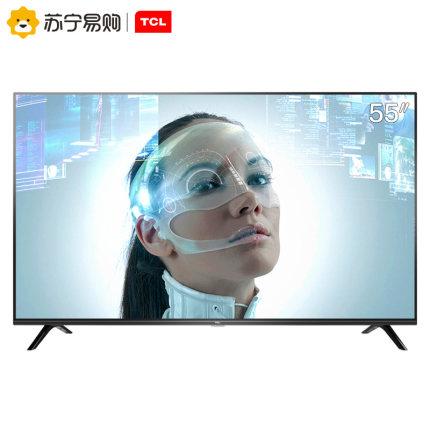 TCL D55A730U 55英寸4KHDR全面屏高清智能网络平板液晶家用电视机