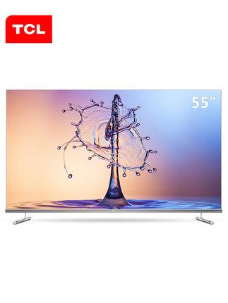 TCL 55T6M 55英寸4K超薄全面屏高清语音免遥控网络官方液晶电视机
