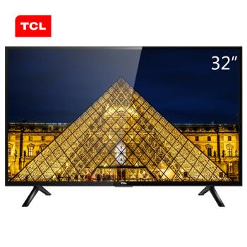 TCL电视  32F3301 32英寸 窄边框蓝光LED液晶电视机(黑色)