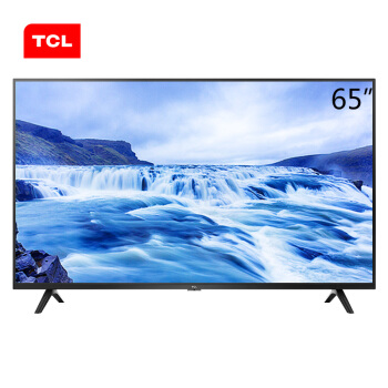 TCL 65L680 65英寸高画质4K超高清HDR 防蓝光智能液晶电视机 丰富影视资源