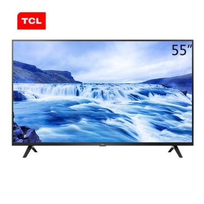 TCL 55L680 55英寸4K超高清HDR防蓝光智能液晶电视机