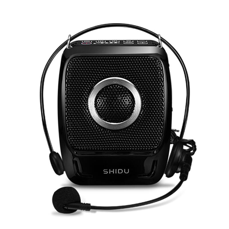 十度(ShiDu) S519扩音器大功率 教师教学便携教师导游促销扩音机 经典黑