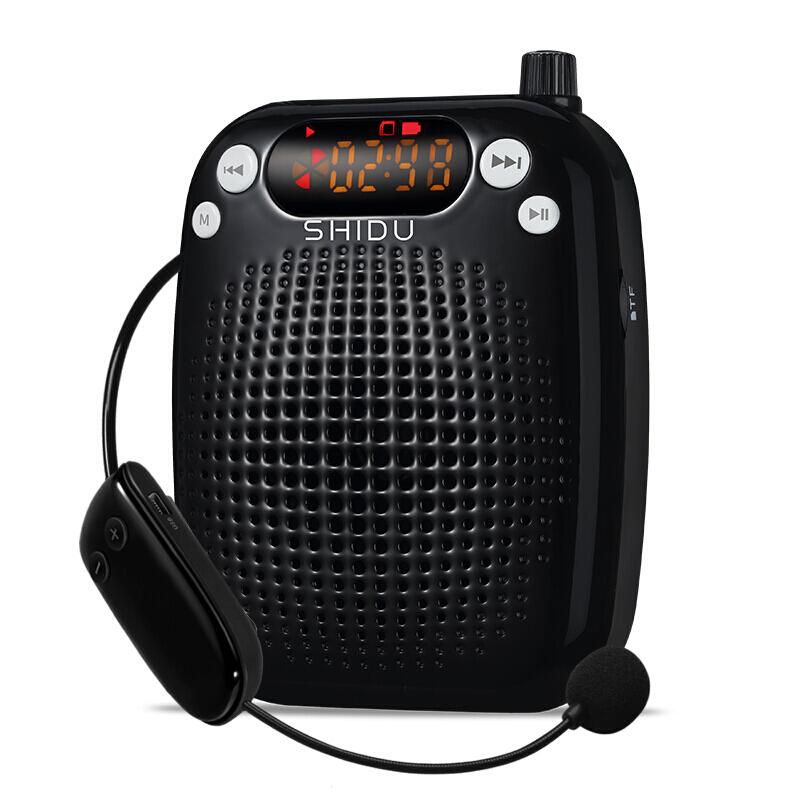 十度(ShiDu) S20无线便携扩音器 小蜜蜂教师导游专用腰挂大功率教学