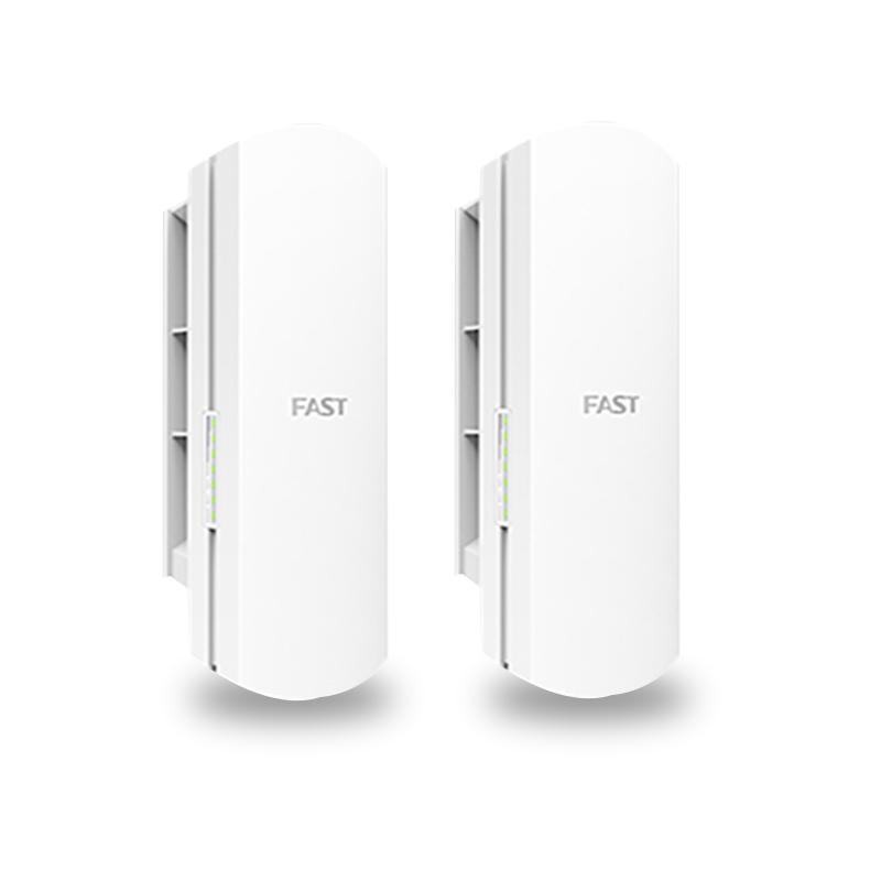 迅捷(FAST)FWB205 长距离定向点对点无线网桥 监控视频网络桥接传输