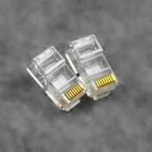 安普AMP水晶头A++盒装水晶头 RJ45网线水晶头100个
