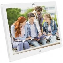 爱国者数码相框 DPF101 10.1英寸 高清电子相册 智能家居 可遥控 黑色 白色