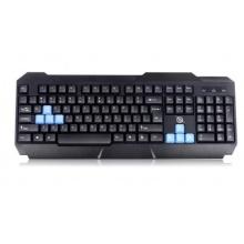 罗品贡技K500键盘 有线键盘游戏办公键盘