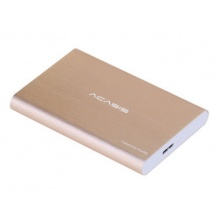 睿志睿博金属硬盘盒 2.5寸 USB3.0 银色 黑色 土豪金 蓝色 红色