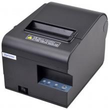 芯烨 XP-N160II 热敏小票打印机 80mm厨房餐饮打印机每秒160毫米 黑色 网口  并口   U口 带刀