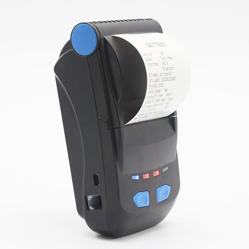芯烨XP-P300蓝牙热敏打印机便携外卖58mm小票据打印机手机美团百度  U口